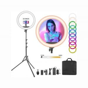 Neewer 19 Inches RGB LED 60W Dimmable Selfie Makeup Light