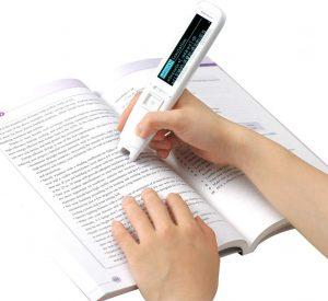 Pen Reader Pen Scanner, Portable Scanning Pen,OCR Digital Highlighter and Exam Reader Pen Scanner, Recording Translation Pen with Stylus, Synchronous Reading