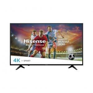 Hisense 2018 3840 x 2160 Model 55in Class 55H6E Smart DLED TV