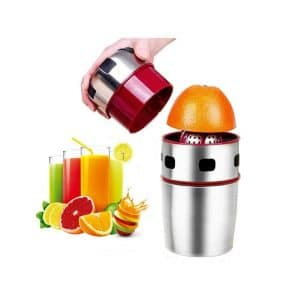 Lukasa Citrus Juicer Manual Portable Stainless Steel Juicer