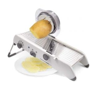 Onadrive 18 Types Adjustable Mandoline Vegetable Slicer