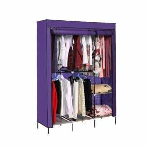 Tomasar Clothes Closet Portable Wardrobe