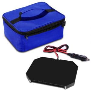Triangle Power Personal Portable Food Warmer with Lunch Bag