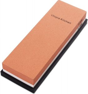 Utopia Kitchen Double Sided Knife Sharpening Stone