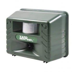 ASPECTEK Yard Sentinel, Outdoor Electronic Pest Animal Ultrasonic Repeller