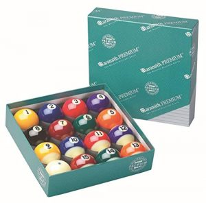 Aramith Belgian Made Pure Phenolic Pool/Billiard Ball Set
