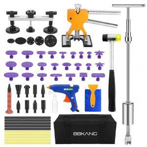 BBKANG Paintless 60pcs Dent Removal Tool Kit