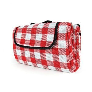 Camco Classic Red and White Picnic Blanket