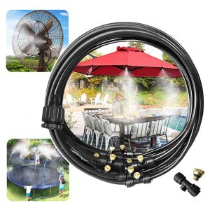 Garden land Outdoor Misting Misters Cooling System