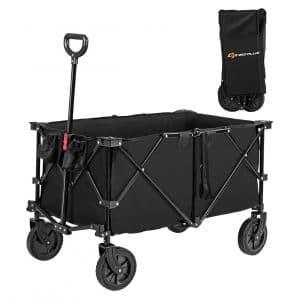 Goplus Collapsible Wagon Cart