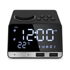 Hetyre 4.2-Inch Bluetooth Alarm Clock