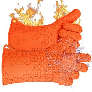 Jolly Green Heat Resistant BBQ Grill Gloves