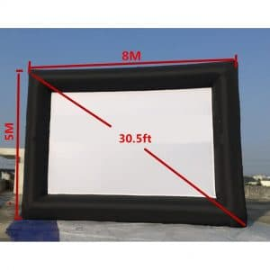 KUNHEWUHUA 30 Feet Outdoor & Indoor Projector Screen Storage Bag