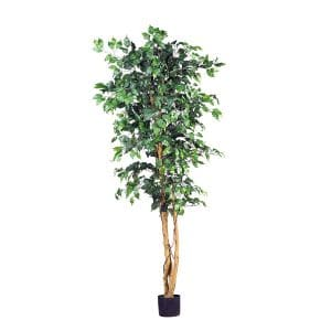 Nearly Natural Ficus Silt Tree 6-feet