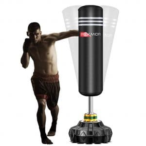 PEXMOR Freestanding Punching Bag with Suction Cup Base