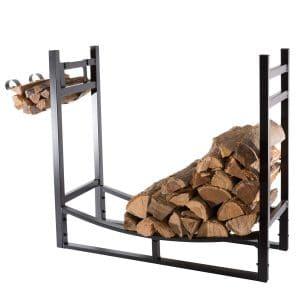 PHI VILLA Heavy-Duty Firewood Rack