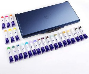 Paul Rubens Watercolor Paint Set, 8ml Tubes, Perfect for a Hobbyist and Artist