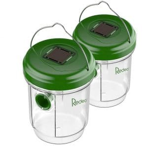 Redeo Reusable Non-Toxic Wasp Trap, (2 Pack)