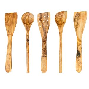 Thirteen Chefs Tramanto Olive Wood Cooking Utensils