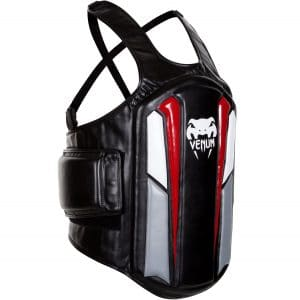 Venum Black/Ice/Red Elite Body Protector