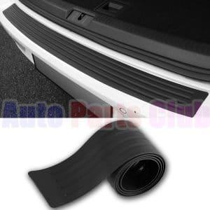 BokWin 2-Packs Black Anti-Collision Patch Bumper Guard Strip Anti-Scratch Bumper Protector Trim Universal for Cars SUV Pickup Truck