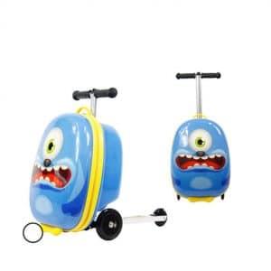 BBUKK Boy Girl Scooter Suitcase