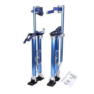 BLACKHORSE-RACING 24-Inch -40-inch Professional Drywall Aluminum Stilt