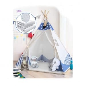 BedStory Teepee Tent for Kids Foldable Play Tent