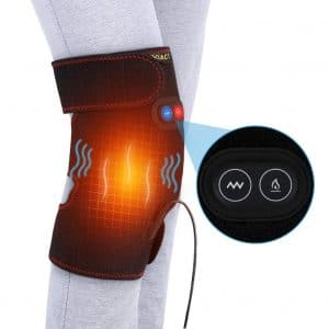 DOACT Heated Knee Brace Wrap for Cramps, Muscles Pain Relief, and Arthritis