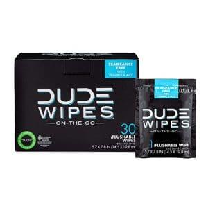 DUDE Flashable Wet Wipes
