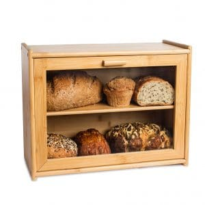 LAURA's Green Kitchen Bread Box