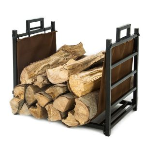 LITHER Fireplace Firewood Rack