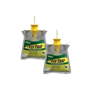 RESCUE Outdoor 2 Pack Disposable Fly Trap