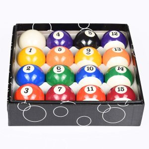 T&R Sports 16 Pool Ball Set Deluxe Billiards Pool Balls