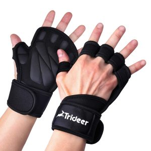 Trideer Ventilated Weight Lifting Gloves