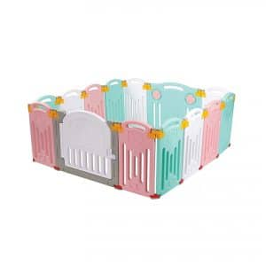 Uanlauo Foldable Baby Playpen
