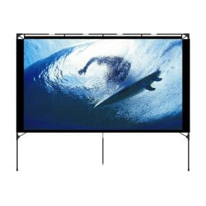 Vamvo Outdoor Projector Screen - Best for Camping & Recreational Events
