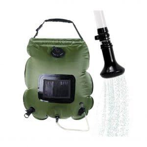 Winterworm Solar Shower Bag 5-Gallon