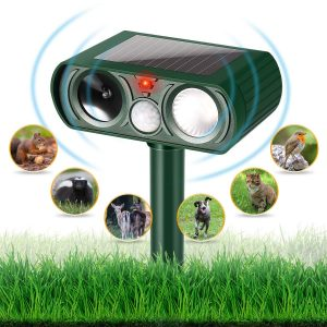 YUCHEL Dog Chaser Solar Powered Animal Chaser