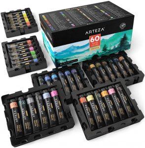 ARTEZA Watercolor Paint, Non-Toxic Paints