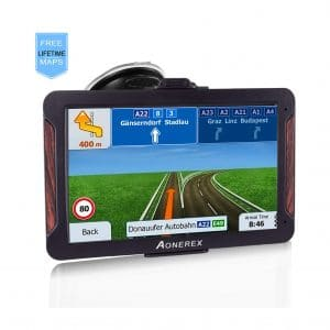 Aonerex GPS Navigation 7-inch for Car