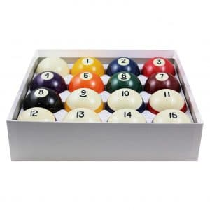 Aramith 2-1/4 inches Regulation Size 16 Ball Set Billiard Balls
