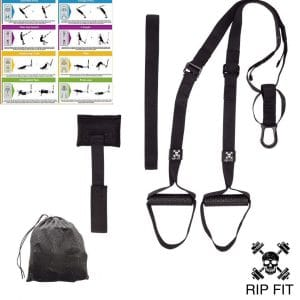 R.I.P. FIT Bodyweight Exercise Equipment Resistance Training Straps
