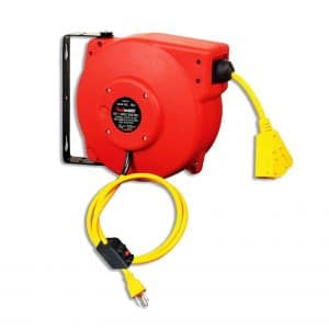 ReelWorks Retractable Extension Cord Reel