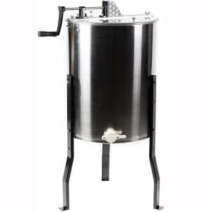 VIVO Large 3 Frame Stainless Steel Honey Extractor SS Model