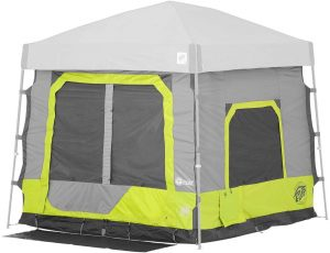 E-Z UP CC10ALLA Outdoor Camping Cube 5.4, Limeade (FRAME and TOP NOT INCLUDED.)