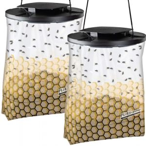 Flies Be Gone 2 pack Non-Toxic Fly Trap