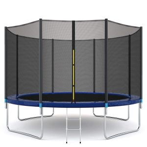 Giantex Trampoline Combo with Safety Enclosure Net