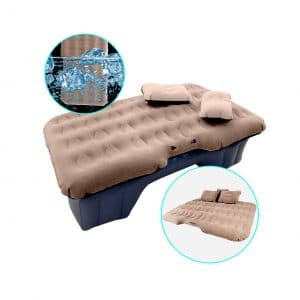 HIRALIY Car Travel Camping Inflatable Mattress with Electric Pump