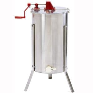 Little Giant Stainless Steel 2-Frame Extractor Hand-Crank Honey Extractor for Beekeeping